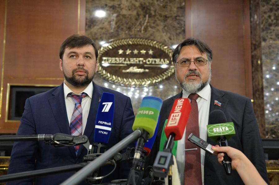 ЛНР и ДНР призвали на переговорах в Минске окончательно договориться об особом статусе Донбасса