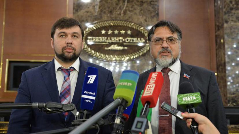 ДНР и ЛНР: Власти Украины сорвали соглашение об отводе вооружений в Донбассе
