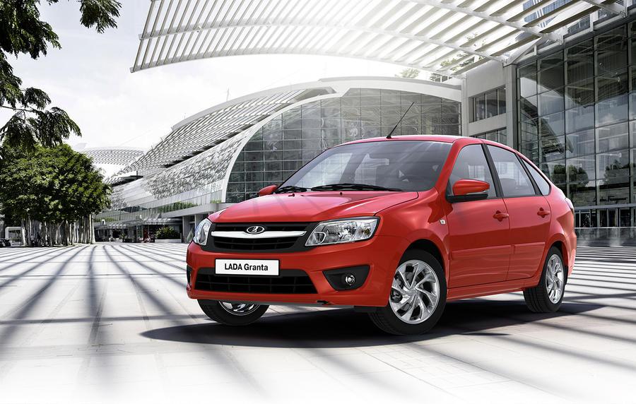 Granta осталась самым популярным автомобилем в России, продажи ZAZ и Chrysler упали почти до нуля