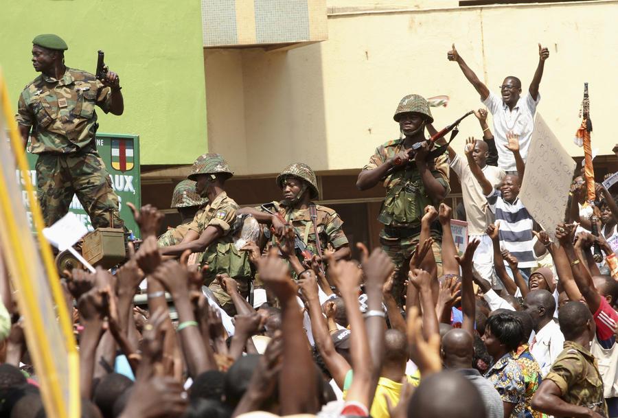 Повстанцы захватили резиденцию президента ЦАР