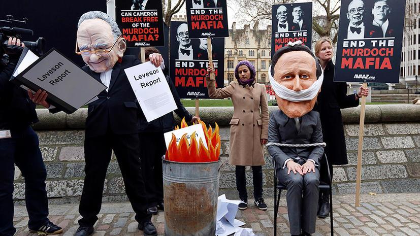 Жертвы прослушки в Британии поддерживают ужесточение закона о СМИ