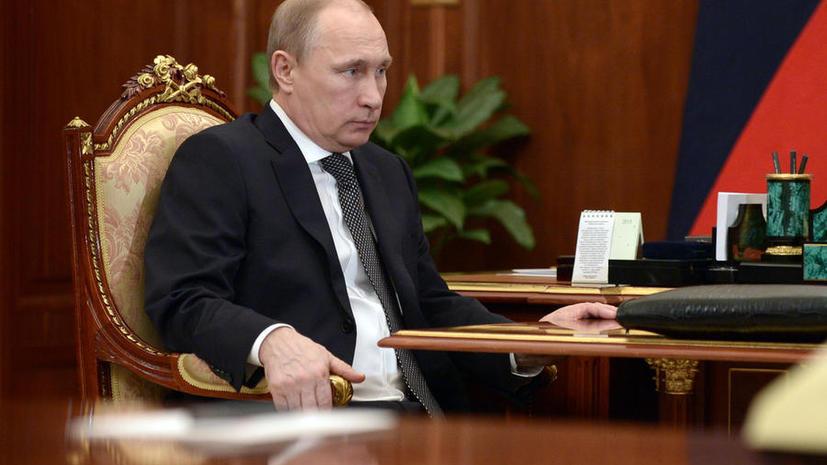 Владимир Путин рассказал о контактах спецслужб США с боевиками на Северном Кавказе