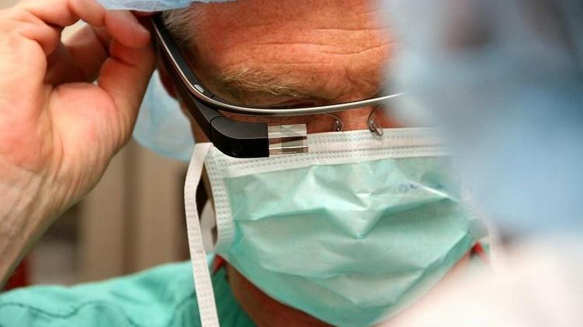 C помощью Google Glass впервые провели хирургическую операцию