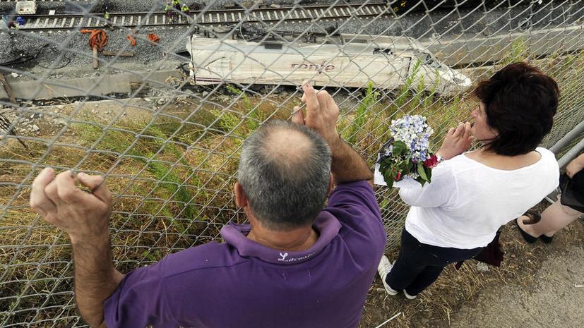 После катастрофы в Галисии Испания пересмотрит скоростной режим на железных дорогах