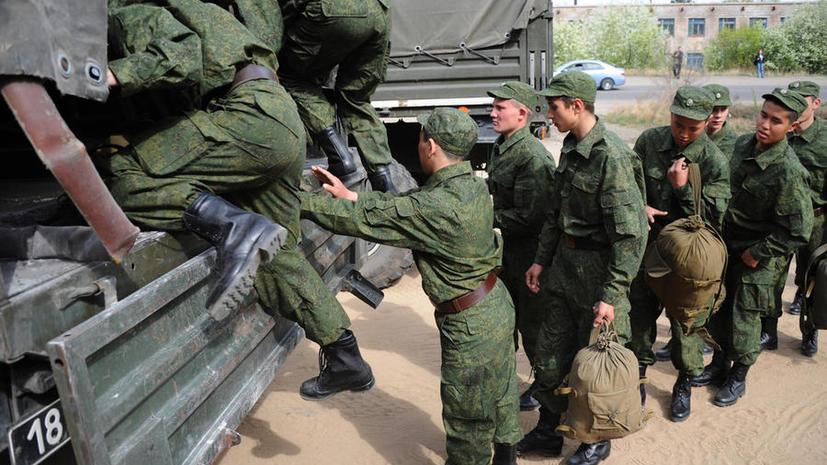 Отслужившие солдаты могут снова попасть в армию