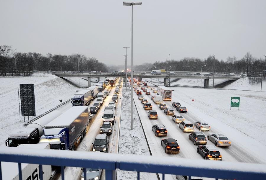 Автомобильный трафик обходится каждому жителю ЕС в €750