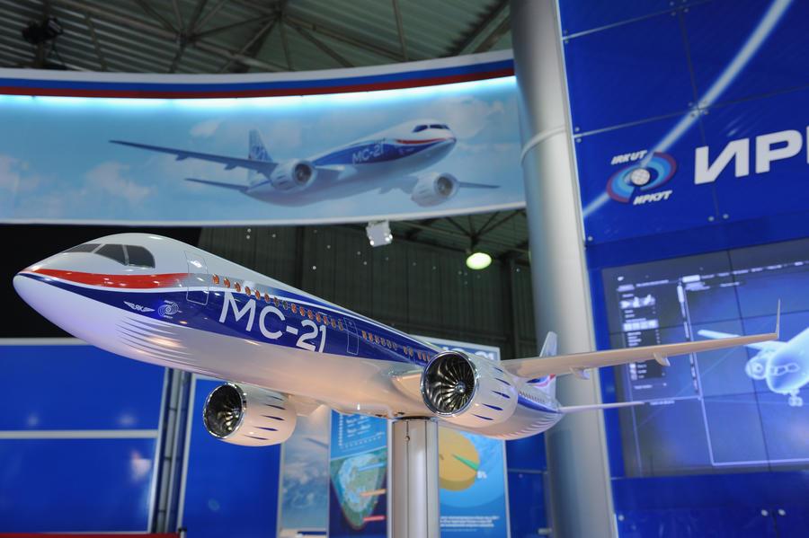Российские компании рассказали об интересе Запада к перспективному отечественному лайнеру МС-21
