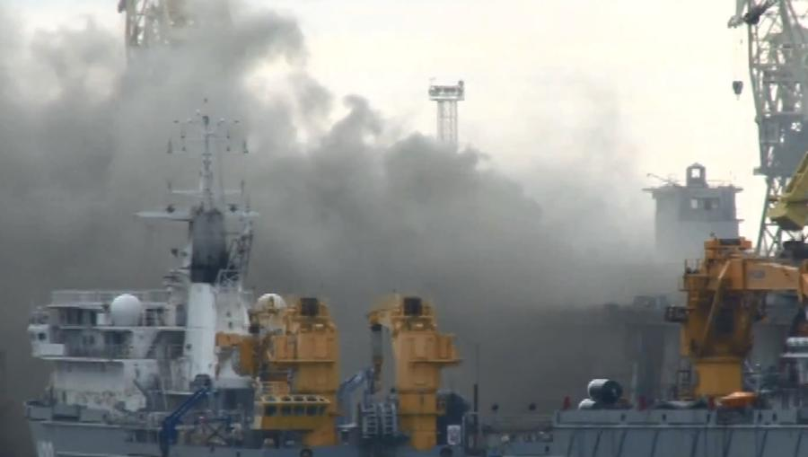 Следователи нашли в пожаре на атомной подлодке «Орёл» основание для уголовного дела