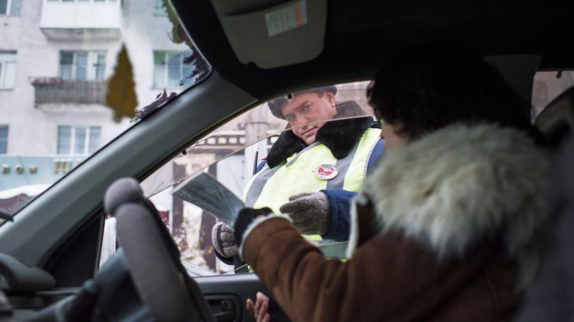В РФ могут ужесточить наказание за повторное вождение без прав