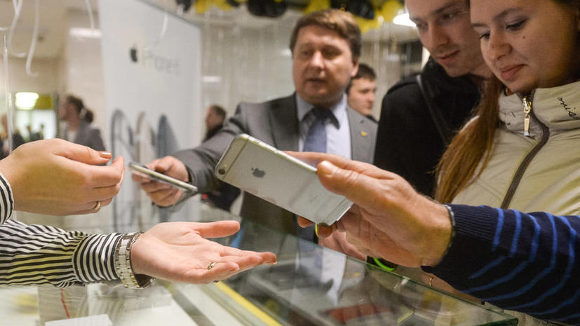 Акции Apple начали падать из-за проблем с iPhone 6 и iOS 8