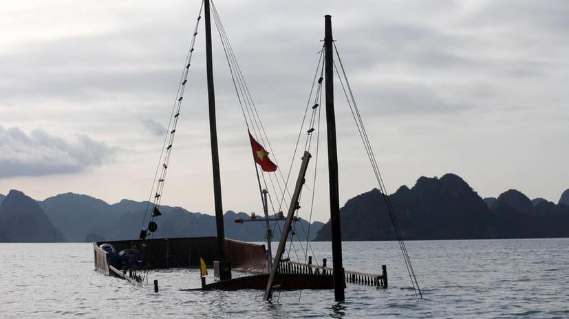 Возле Нигерии затонуло судно со 166 пассажирами