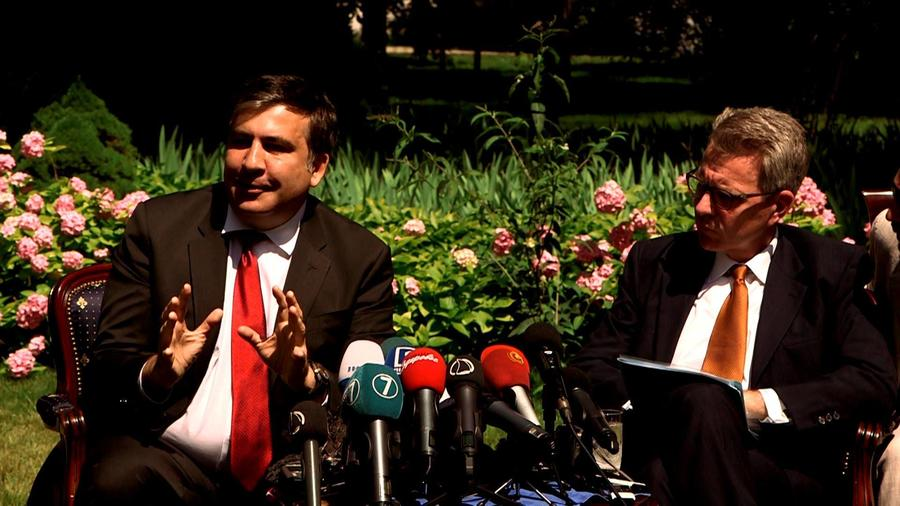 Михаил Саакашвили: США согласились дать средства на заработные платы Одесской обладминистрации