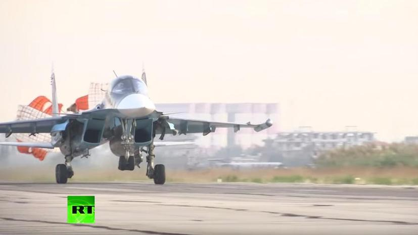 Минобороны РФ опубликовало подробности уничтожения баз «Исламского государства» в Сирии