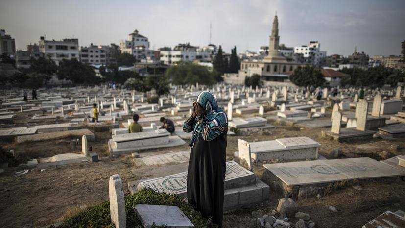 Около 40 жителей сектора Газа убиты в первый день мусульманского праздника Ид аль-Фитр