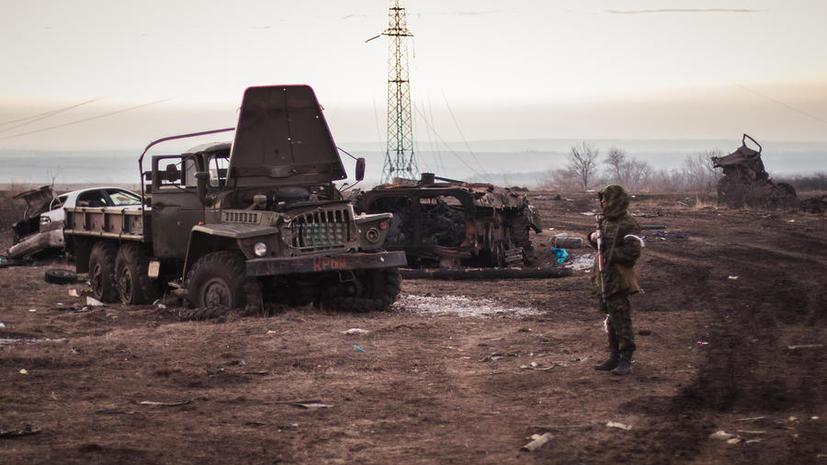 Пётр Порошенко заявил об отводе ополченцами ЛНР и ДНР значительной части вооружения
