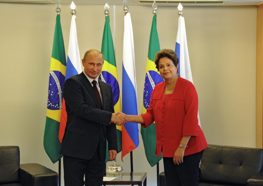 Дилма Роуссефф призвала Россию увеличить присутствие в различных секторах бразильской экономики