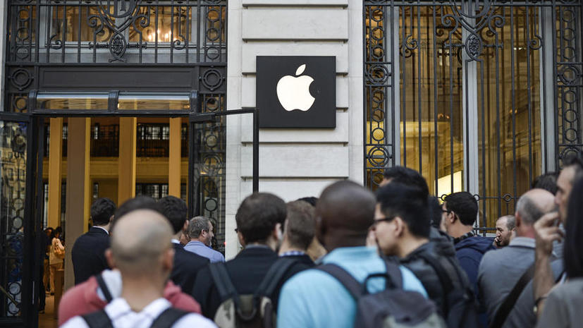 Американцы подали на Apple в суд за обман по поводу объёма памяти iPhone и iPad