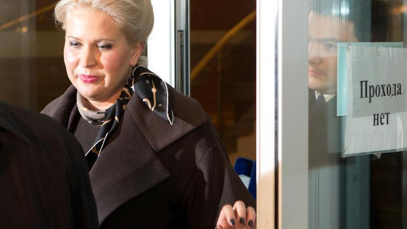 Ходатайство о продлении домашнего ареста Евгении Васильевой направили на пересмотр