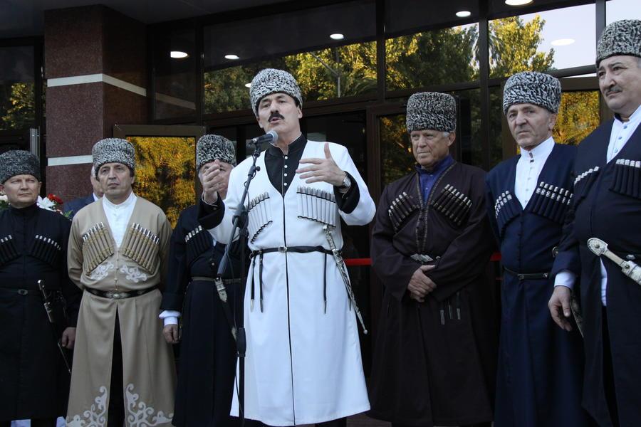 Рамазан Абдулатипов вступил в должность главы Дагестана