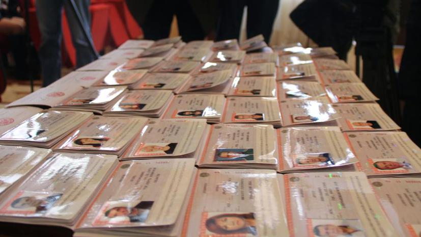 Жители Крыма получат российские паспорта в течение трёх месяцев