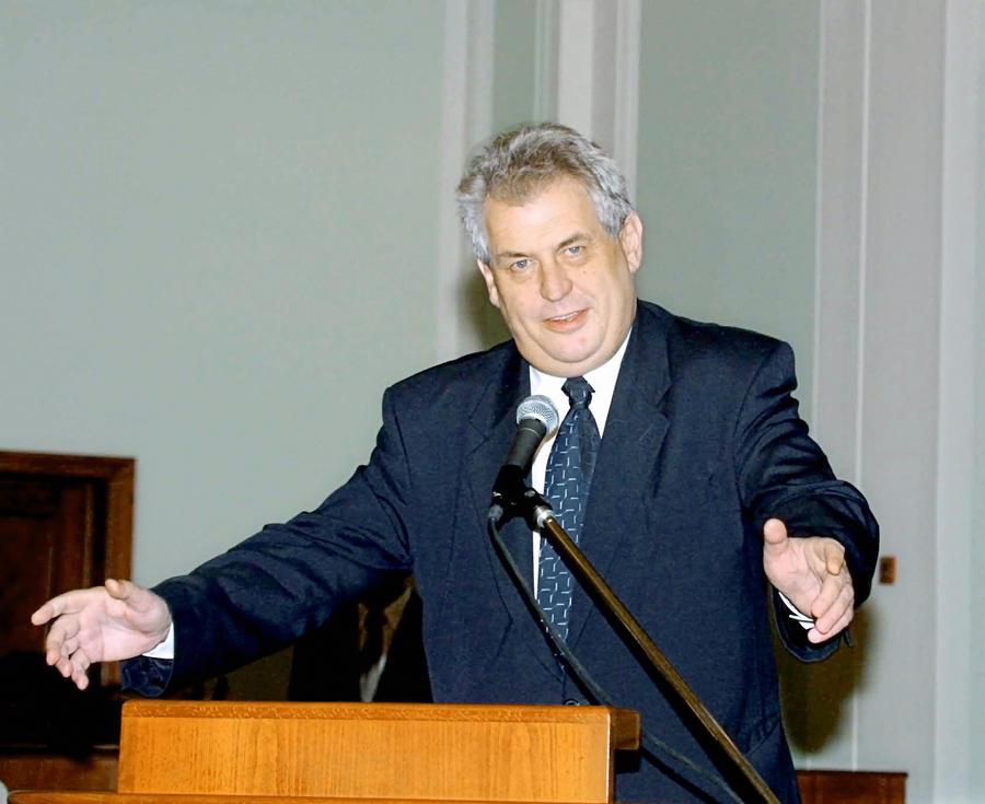 Президент Чехии Милош Земан сравнил шествие националистов на Украине с маршами нацистов в Германии