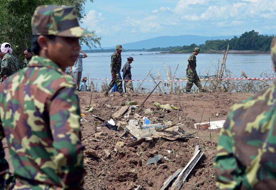 На борту разбившегося в Лаосе самолёта находилось высшее военное командование страны