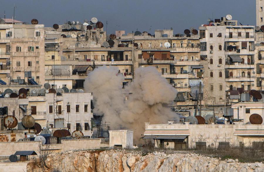 Сирийские курды сообщили о применении фосфорных снарядов боевиками при обстреле Алеппо