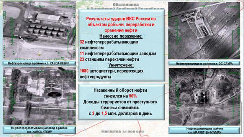 Полный текст брифинга Минобороны на тему «ВС РФ в борьбе с международным терроризмом»