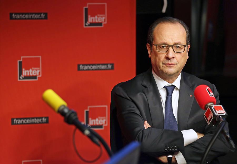 Франсуа Олланд: Введение экономических санкций против России должно быть остановлено