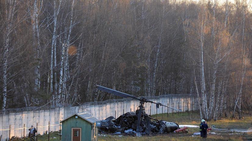 Представитель завода «Камов»: Экипаж вертолёта «Аллигатор» при аварии в Жулебине действовал грамотно