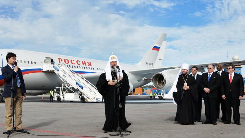 Патриарх Кирилл поприветствовал кубинцев «от всех народов исторической Руси»