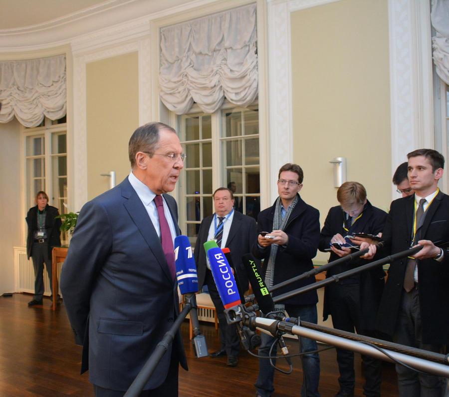 Сергей Лавров ответит на вопросы Маргариты Симоньян, Алексея Венедиктова и Сергея Доренко