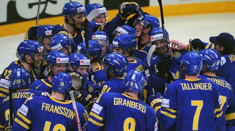 Сборная Швеции по хоккею вышла в финал чемпионата мира