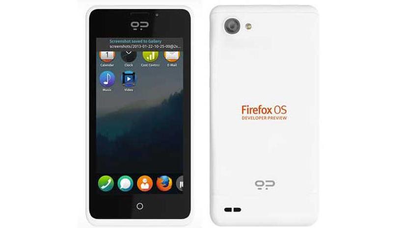 Первые смартфоны на базе Firefox OS разошлись, как горячие пирожки