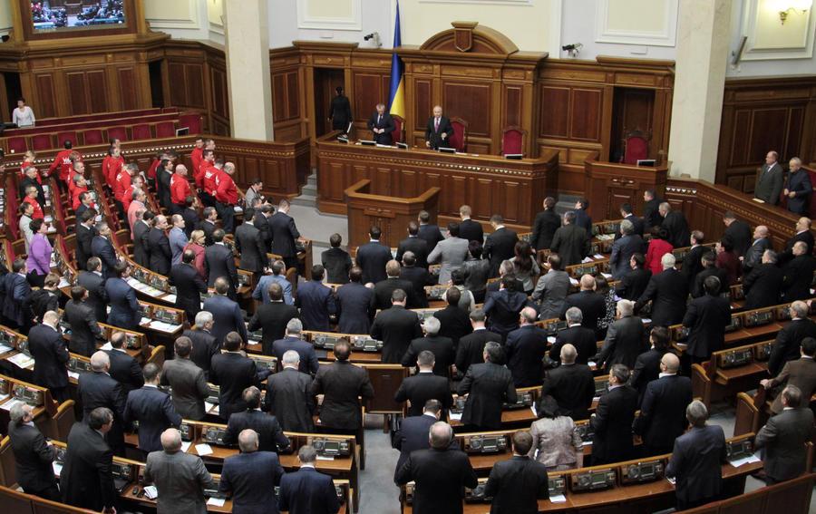Верховная рада отменила закон, который разрешал использование русского языка на Украине