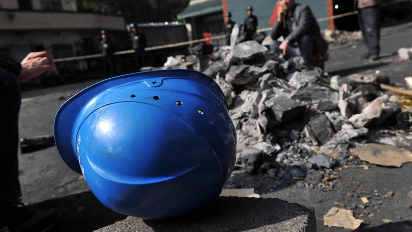 В Китае в результате взрыва на шахте погибли 22 человекf