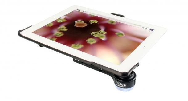 Американцы разработали насадку, превращающую iPad в лабораторный микроскоп