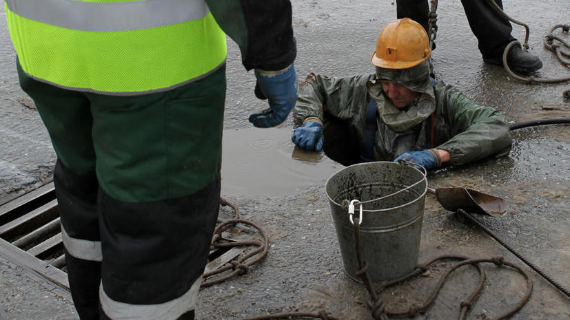 Улица во Владивостоке просела после работ по строительству канализации