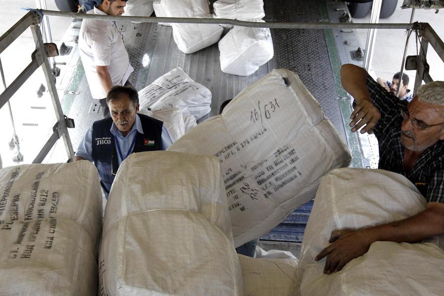 Япония может помочь сирийской оппозиции гуманитарной помощью