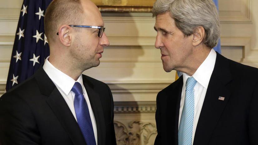 Немецкие СМИ: Вашингтон планирует избавиться от коррупционера Арсения Яценюка