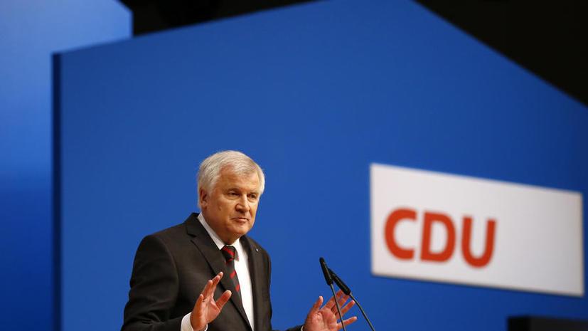 Премьер-министр Баварии: Берлин выиграет, отказавшись от антироссийского курса