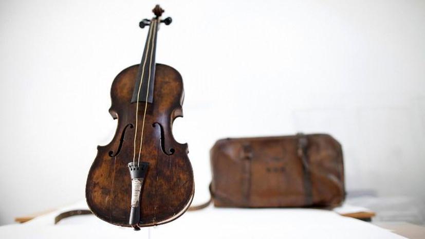 Скрипка с Титаника ушла с молотка за $1,5 млн