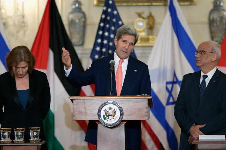 Джон Керри: Израильтяне и палестинцы могут урегулировать конфликт за 9 месяцев