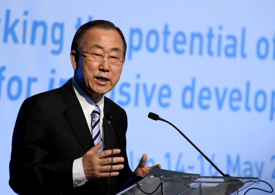 Генсек ООН: Химическое оружие в Сирии не удастся уничтожить в срок до 30 июня