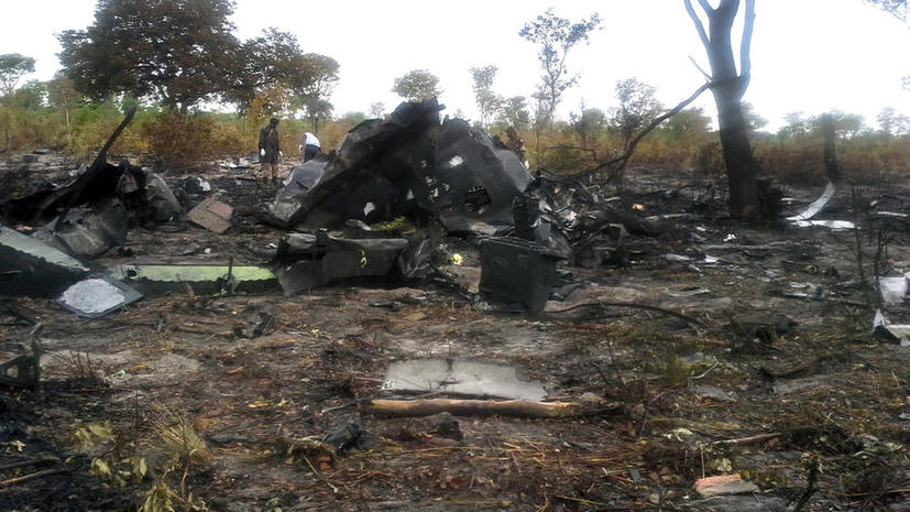 Пилот разбившегося месяц назад в Намибии самолёта намеренно спровоцировал авиакатастрофу