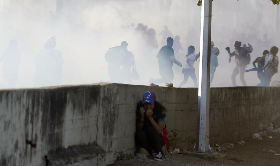 МИД РФ обеспокоен ростом напряжённости в Венесуэле