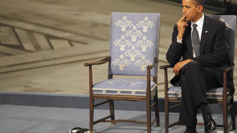 The National Interest: Бараку Обаме неприлично оставаться лауреатом Нобелевской премии мира