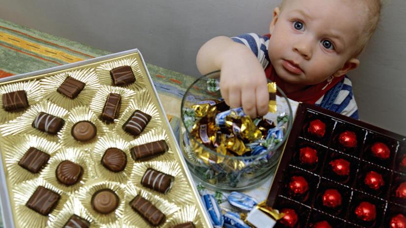 Роспотребнадзор запретил украинский шоколад