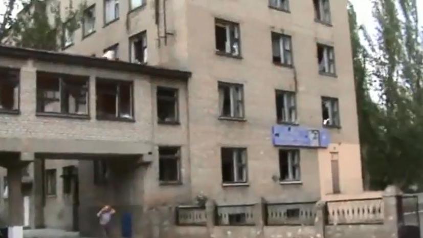 Украинская армия обстреливает больницы, школы, мирных жителей и своих же военных