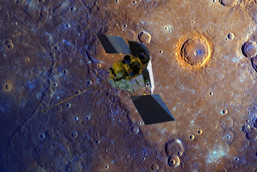Сегодня зонд NASA разобьётся о поверхность Меркурия